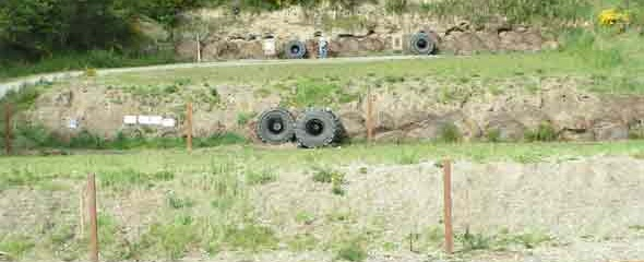 Down range at the high power range