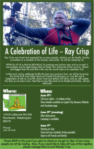 Ray Crisp - A celebration of life.